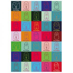 Affiche Poster Filitosa 50x70 Multi-couleur Création